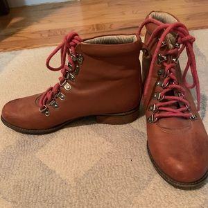 Matt Bernson Brown Leather Hiking Boot